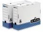 97f00265 - pudło archiwizacyjne Fellowes R-Kive Prima A4 składane, karton o wymiarach 100x312x258 mm, biało-niebieskie, 10 szt./op.
