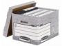 97f00810 - pudło archiwizacyjne Fellowes FastFold ze zdejmowanym wiekiem, karton o wymiarach 333x285x390 mm, 10 szt./op.
