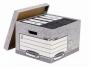 97f01810 - pudło archiwizacyjne Fellowes FastFold ze zdejmowanym wiekiem, karton o wymiarach 380x287x430 mm, 10 szt./op.