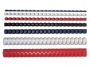 97f53443 - grzbiet do bindowania plastikowy 25 mm, A4 Fellowes biały, 50 szt./op.