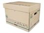 97f72053 - pudło archiwizacyjne Fellowes Extra Strong średnie, udźwig do 35 kg, z uchylnym wiekiem, karton o wymiarach 325x300x390 mm