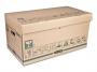97f72054 - pudło archiwizacyjne Fellowes Extra Strong duże, udźwig do 40 kg, z uchylnym wiekiem, karton o wymiarach 338x312x628 mm