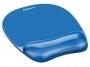 97f91141 - podkładka pod mysz i nadgarstek ergonomiczna Fellowes Crystal niebieska