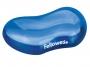 97f91177 - podkładka pod nadgarstek ergonomiczna przed mysz Fellowes żelowa Crystal niebieska