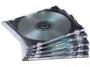 97f98316 - pudełko na płyty na 1 CD / DVD Fellowes Slim przezroczyste 144x126x5 mm 25 szt./op.
