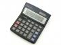 9dk215 - kalkulator biurowy Vector DK-215 BLK, 12 miejscowy wyświetlacz