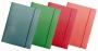 R000216 - teczka z gumką A4 Office Products Pastel, kartonowa lakierowana, mix kolorów