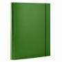 R000239 - teczka z gumką A4 Office Products PP zielony