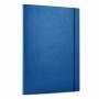 R000243 - teczka z gumką A4 Office Products PP niebieska