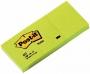 R000293 - karteczki samoprzylepne 3M Post-it 653 38x51 mm, 3x100 kartek, żółty