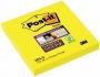 R000297 - karteczki samoprzylepne 3M Post-it Super Sticky 654-S 76x76 mm, 90 kartek, żółte