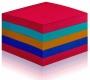 R000298 - karteczki samoprzylepne 3M Post-it Super Sticky 2028-SS-RBWC 76x76 mm, 440 kartek, mix kolorów