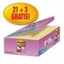 R000299 - karteczki samoprzylepne 3M Post-it Super Sticky 622-SSCY-24VP 47,6x47,6 mm, 24x90 kartek, żółte
