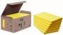 R000306 - karteczki samoprzylepne eko 3M Post-It 655-1B 76x127 mm, 6x100 kartek, żółte
