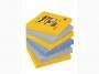 R000325 - karteczki samoprzylepne 3M Post-it Super Sticky 654-6SS-NY 76x76 mm, 6x90 kartek, new york