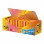 R000333 - karteczki samoprzylepne 3M Post-it 654-NP24 76x76 mm, 21+3x100 kartek, mix kolorów