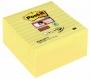 R000339 - karteczki samoprzylepne 3M Post-it Super Sticky Z-Notes XL R440-SSCY w linię 101x101 mm, 3x70 kartek, żółte
