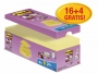 R000346 - karteczki samoprzylepne 3M Post-it Super Sticky Z-Notes R330-SSCY-VP20 76x76 mm, 16x90 kartek, żółte