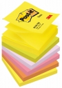 R000353 - karteczki samoprzylepne 3M Post-it Z-Notes R-330-NR 76x76 mm, 6x100 kartek, neonowe