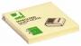 R000355 - karteczki samoprzylepne Q-Connect typu Z 76x76 mm, 100 kartek, jasnożółte