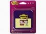 R000356 - podajnik do kartek samoprzylepnych Post-it Z-Notes VD-330 fioletowy + 2 bloczki karteczek samoprzylepnych Super Sticky Z-Notes