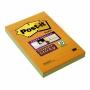 R000358 - karteczki samoprzylepne Post-it Super Sticky XXL w linię 4645-3SSAN 101x152 mm, 3x45 kartek, paleta bankok