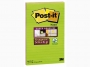 R000359 - karteczki samoprzylepne Post-it Super Sticky XXXL w linię 5845-SS 127x203 mm, 2x45 kartek, paleta marrakesz