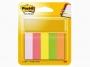 R000384 - zakładki indeksujące samoprzylepne Post-it 670/5 papierowe, 15x50 mm, mix kolorów neonowych, 5x100 kartek