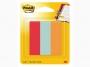R000388 - zakładki indeksujące samoprzylepne Post-it 671-PBO papierowe, 22,2x73mm, mix kolorów, 3x50 kartek
