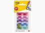 R000391 - zakładki indeksujące samoprzylepne Post-it Mini 684-PLD5 PP, 11,9x43,2 mm, mix kolorów, 5x20 kartek