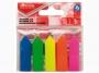 R000392 - zakładki indeksujące samoprzylepne Office Products strzałki PP, 12x45 mm, mix kolorów, 5x25 kartek