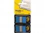 R000415 - zakładki indeksujące samoprzylepne Post-it 680-B2EU PP, 25x43 mm, niebieskie, 2x50 kartek