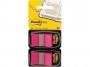 R000416 - zakładki indeksujące samoprzylepne Post-it 680-BP2EU PP, 25x43 mm, jaskraworóżowe, 2x50 kartek