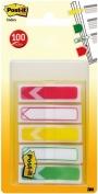 R000419 - zakładki indeksujące samoprzylepne Post-it 684-ARR-RYG strzałki PP, 11,9x43,2 mm, mix kolorów, 5x20 kartek