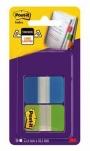 R000422 - zakładki indeksujące samoprzylepne Post-it 686-AL do archiwizacji PP, 38x25,4 mm, mix kolorów, 2x8 kartek