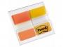 R000423 - zakładki indeksujące samoprzylepne Post-it 686-OY do archiwizacji PP, 38x25,4 mm, mix kolorów, 2x8 kartek