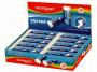 R000796 - gumka do ścierania Keyroad Maxi uniwersalna, 20 szt./op. biała