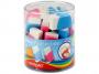 R000824 - gumka do ścierania Keyroad uniwersalna, 24 szt.op. mix kolorów