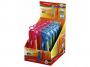 R000831 - cyrkiel plastikowy Keyroad Flow w etui z grafitami mix kolorów