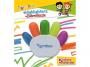 R000849 - zakreślacz Gimboo w kształcie rączki 5 szt./op. mix kolorów