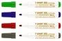 R000858 - marker tekstylny ICO xxl gr.linii 1-3 mm 4 szt./op. mix kolorów