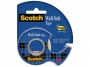 R000910 - taśma klejąca 3M Scotch Wall-Safe, bezpieczna dla ścian, na podajniku, 19mm, 16,5m, transparentna