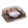 R000953 - przybornik na biurko Office Products plastikowy, z karteczkami