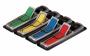 R001143 - zakładki indeksujące samoprzylepne 3M Post-it 684-ARR3 PP strzałki, 4x24 kartek, mix kolorów