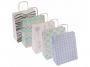 R001907 - torebka papierowa Office Products 18x8x22,5 cm, mix wzorów pasteowych 25 szt./op.