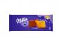 R001995 - ciastka Milka Choco Moo 120 g polane czekoladą