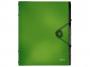 R002404 - teczka segregująca A4 Leitz Solid 6 przekładek, jasnozielona