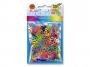 R003181 - gumka recepturka Rubber Loops, ósemki, mix kolorów, 500szt.