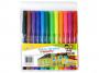 R003193 - flamastry szkolne Gimboo mix kolorów, 12szt.