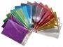 R003194 - karton dekoracyjny Gimboo, fala, super brokat, A4, mix kolorów